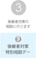 京都中小企業事業継続・創生支援センターの支援内容その3:後継者対策特別相談デー